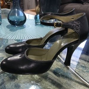 Cole Haan Ankle strap Mary Jane heels sz 7.5